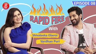Vardhan Puri & Shivaleeka Oberoi's Thrilling Rapid Fire Round | Yeh Saali Aashiqui