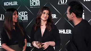 Twinkle Khanna At Kohler Experience Centre Launch Mumbai