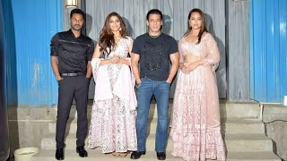 Dabangg 3 Promotion On Bigg Boss 13 : Salman Khan, Sonakshi Sinha, Saiee Manjrekar And Prabhu Deva