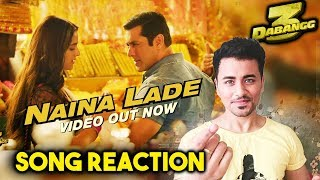 Dabangg 3 | Naina Lade Song Reaction | Review | Salman Khan, Saiee Manjrekar