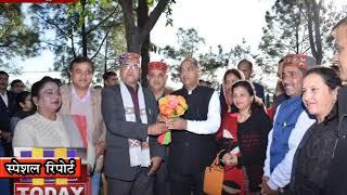 07 DEC N 2 सरकाघाट के विधायक कर्नल इंन्द्र सिंह ने हमीरपुर में मुख्यमंत्री के साथ मुलाकात की ।