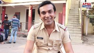 क्या हुआ जब | टीन एजर्स लव स्टोरी | के सेट पर वर्दी में दिखे Aditya Mohan