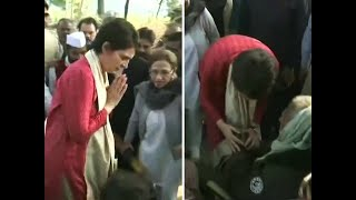 Watch: Priyanka Gandhi meets family of Unnao rape victim