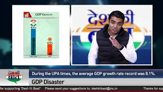 Desh Ki Baat | Jaiveer Shergill on Economy Situation in Country