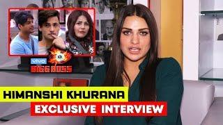 Himanshi Khurana Exclusive Interview After Eviction | Siddharth, Asim, Rashmi, Arhaan | Bigg Boss 13