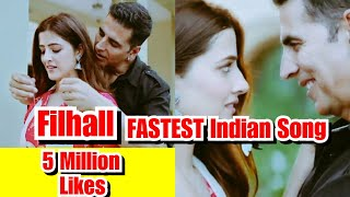 Filhall Is Fastest Indian Song To Reach 5 Million Likes In Just A Month