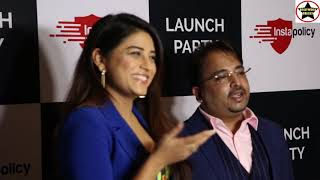 Insta policy Website and Official App Launch By Actress Bhumika Gurung Of Nimki Mukhiya Fame