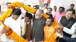 खंडवा भाजपा जिलाध्यक्ष सेवादास पटेल बोले पार्टी की सेवा कर लगातार मजबूती प्रदान करता रहूंगा