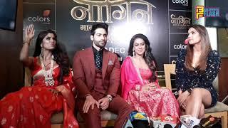 Naagin 4 Show Launch - Nia Sharma, Jasmin Bhasin, Vijayendra Kumeria, Sayantani Ghosh