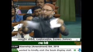 Asaduddin Owaisi on CAB: Tears Bill, calls it anti national