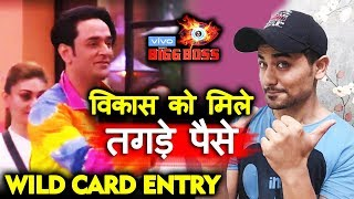 Bigg Boss 13 | Vikas Gupta GETS HUGE Amount For Wild Card Entry | BB 13 Video
