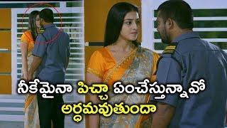 నీకేమైనా పిచ్చా ఏంచేస్తున్నావో అర్ధమవుతుందా | Law Telugu Movie Scenes | Mouryani