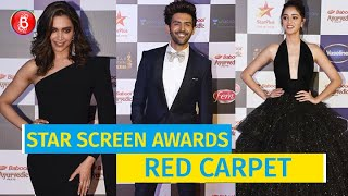 Deepika Padukone, Kartik Aaryan, Ananya Panday dazzled at the Star Screen Awards 2019