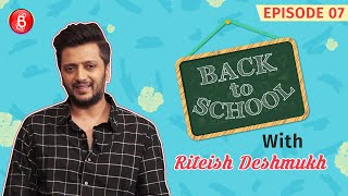 When Riteish Deshmukh Was Left With His Pants Down In Front Of Girls | Back To School