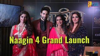 Naagin 4 - Bhagya Ka Zehreela Khel Show Launch - Nia Sharma, Jasmin Bhasin, Vijayendra & Sayantani