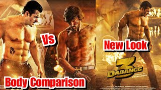 Salman Khan Vs Kichcha Sudeep Body Comparison For Dabangg 3