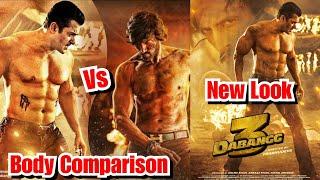 Salman Khan Vs Kichcha Sudeep Body Comparison For Dabangg 3