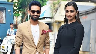 Deepika Padukone And Vikrant Massey's Grand Entry At Chhapaak Trailer Launch