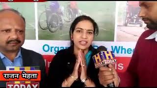 09 DEC N 4  हमीरपुर के सुजानपुर में प्रदेश की पहली हिमालयन व्हील चैयर क्रिकेट टाफी का आयोजन