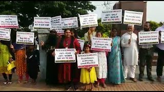 Hyderabad Public Protest Against NRC | .CitizenShip Amendment Bill At Tank Bund Road |