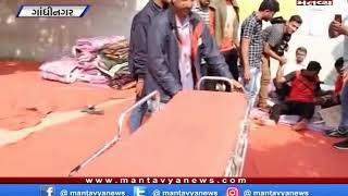 ગાંધીનગર - બિન સચિવાલય પરિક્ષા મુદ્દે આંદોલન કરી રહેલા વિદ્યાથીની બગડી તબિયત