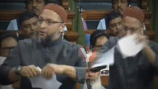 ASADUDDIN OWAISI | Tears The Citizenship Amendment Bill | Says Its Against Constitution - |DT News