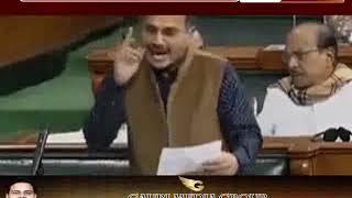 लोकसभा में कांग्रेस के अधीर का विवादित बयान - देश को  'रेप इन इंडिया' बताया