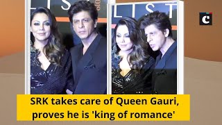 SRK takes care of Queen Gauri, proves he is 'king of romance'