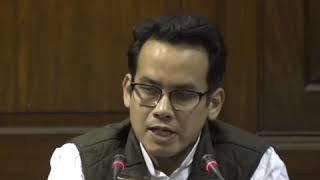 Gaurav Gogoi addresses media in Parliament on The Citizenship Amendment Bill(CAB), 2019