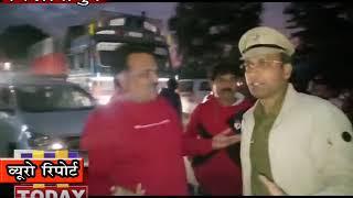 बिलासपुर में सरकार और प्रशासन के खिलाफ जम कर हल्ला बोला।