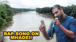 WATCH: Goan Rapper Graces The Mic With Mhadei Rap Song, Spits Meaningful Bars On The Issue!