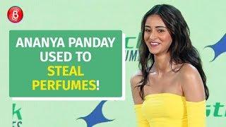 OMG! Ananya Panday used to steal her beau's perfume