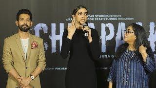 Chhapaak Trailer Launch   Deepika Padukone & Vikrant Massey   Full Video