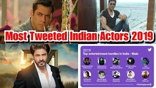 Most Tweeted Indian Actors In 2019