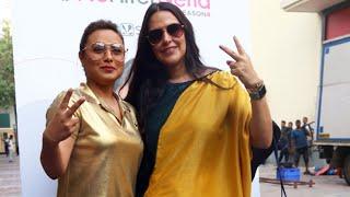 Mardaani 2 | Rani Mukerji With Neha Dupia At NO FILTER NEHA SEASON 4 Shoot At Yashraj Studios