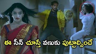 ఈ సీన్ చూస్తే వణుకు పుట్టాల్సిందే | Law Telugu Movie Scenes | Mouryani