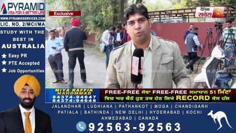 Exclusive Interview: सुनिए Gangster Bhagwanpuria के आरोपों पर मंत्री Sukhjinder Randhawa का जवाब