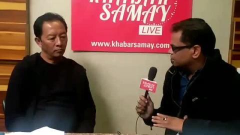 Binay Tamang Live from khabar samay Office