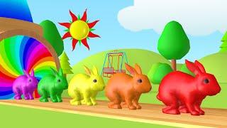 Pelajari warna-warna dengan warna permen karet dan balon hewan | Impariamo i colori in Italiano.