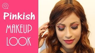 Easy Pinkish Makeup Look / Focallure Makeup