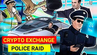 CRYPTO EXCHANGES पर पुलिस ने मारा छापा || 10 PEOPLES ARRESTED || BITCOIN GOING TO $100000