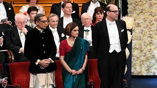 Abhijit Banerjee, Esther Duflow go traditional to receive Nobel Prize in Sweden