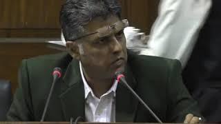 Manish Tewari addresses media in Parliament House on the Citizenship Amendment Bill(CAB), 2019