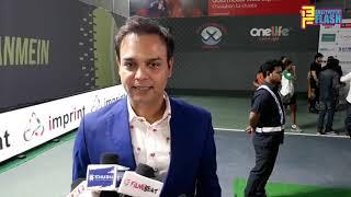 Radha Krishna Serial Producer Siddharth Kumar Tewary At Tennis Premier League Season 2