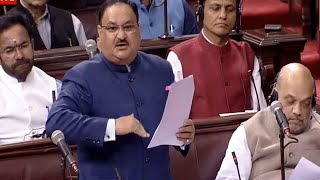 We are following what Dr Manmohan Singh once suggested: JP Nadda on CAB