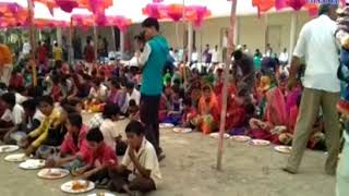 Una| Prasad for all villagers by Girnari Mandal| ABTAK MEDIA