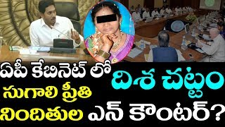 AP Cabinet Seal of Approval On దిశ Act 2019 | AP Assembly Winter Cessations | AP News | CM Jagan