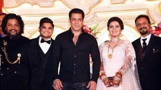 Salman Khan Attends His Makeup Artist Son's Wedding Ceremony
