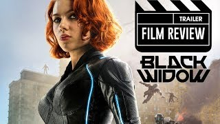 """Black Widow"" Movie Trailer Review 
