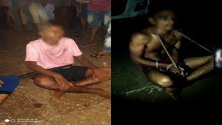 Viral: Two Youth Tied, Stripped & Beaten By Mob For Stealing Car Batteries